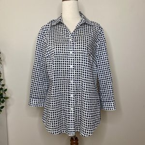 Sportscraft Relaxed Blouse Size 10